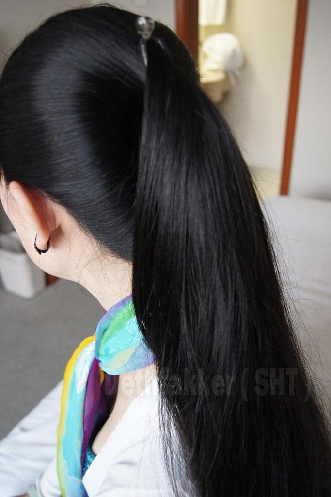 Ponytail / Kuncir Part 1 | Rambut Panjang dan Indah ...