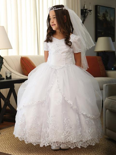 ultima moda en vestidos de primera comunion