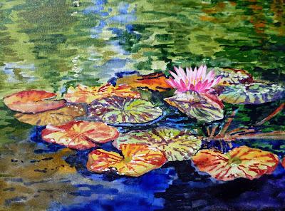 inspired Monet
