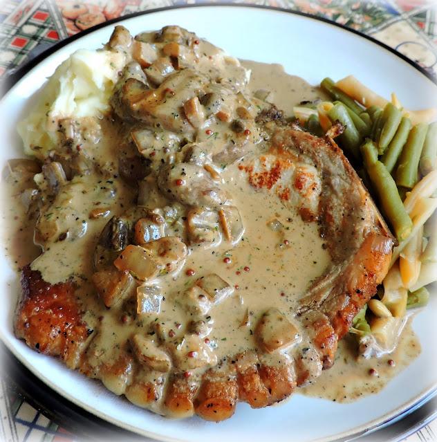 Pork Chops & Mushroom Gravy