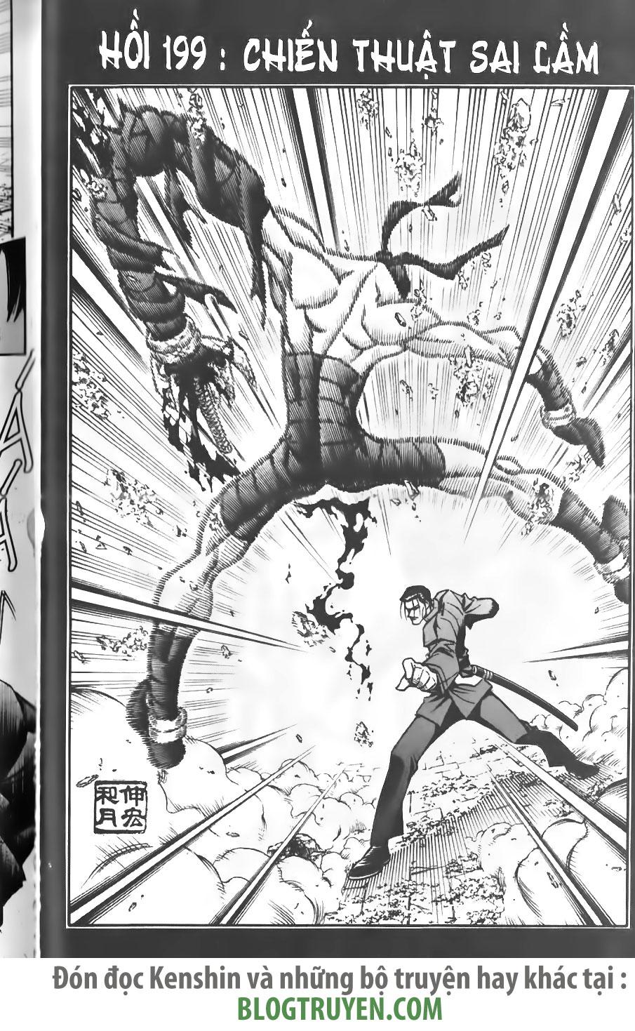 Rurouni Kenshin chap 199 trang 4