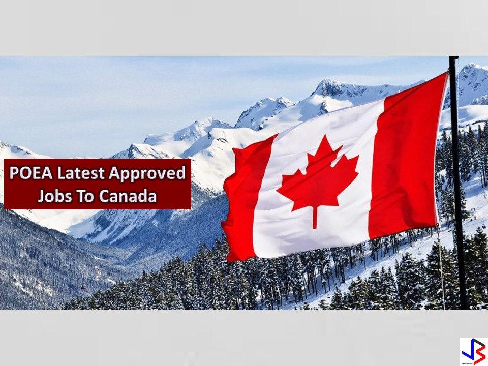 Canada is Hiring Filipino Workers! Here are the Jobs Approved by the POEA!
