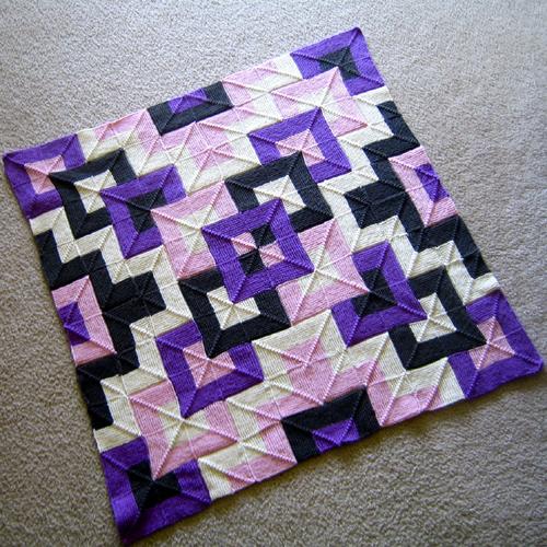 Tamarix Quilt - Knit Pattern
