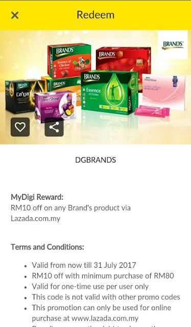 Digi Deal Brands Products Lazada Voucher Code Discount