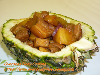 Pork Adobo with Pineapple - Recipe
