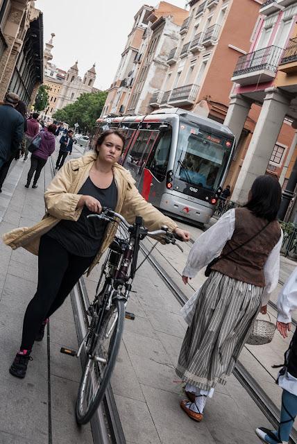 Paseando el Día del Pilar Street Photo
