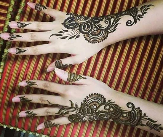henné inscription indienne