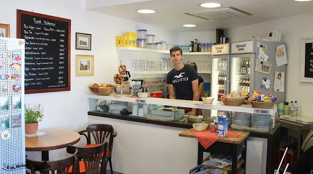 Riosk Café Molkenkur, Heidelberg