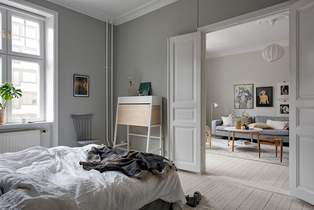 Elegant scandinavian interior