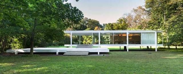 ミース・ファンデル・ローエのな少ないけれど豊かな建築【arc】ファンズワース邸