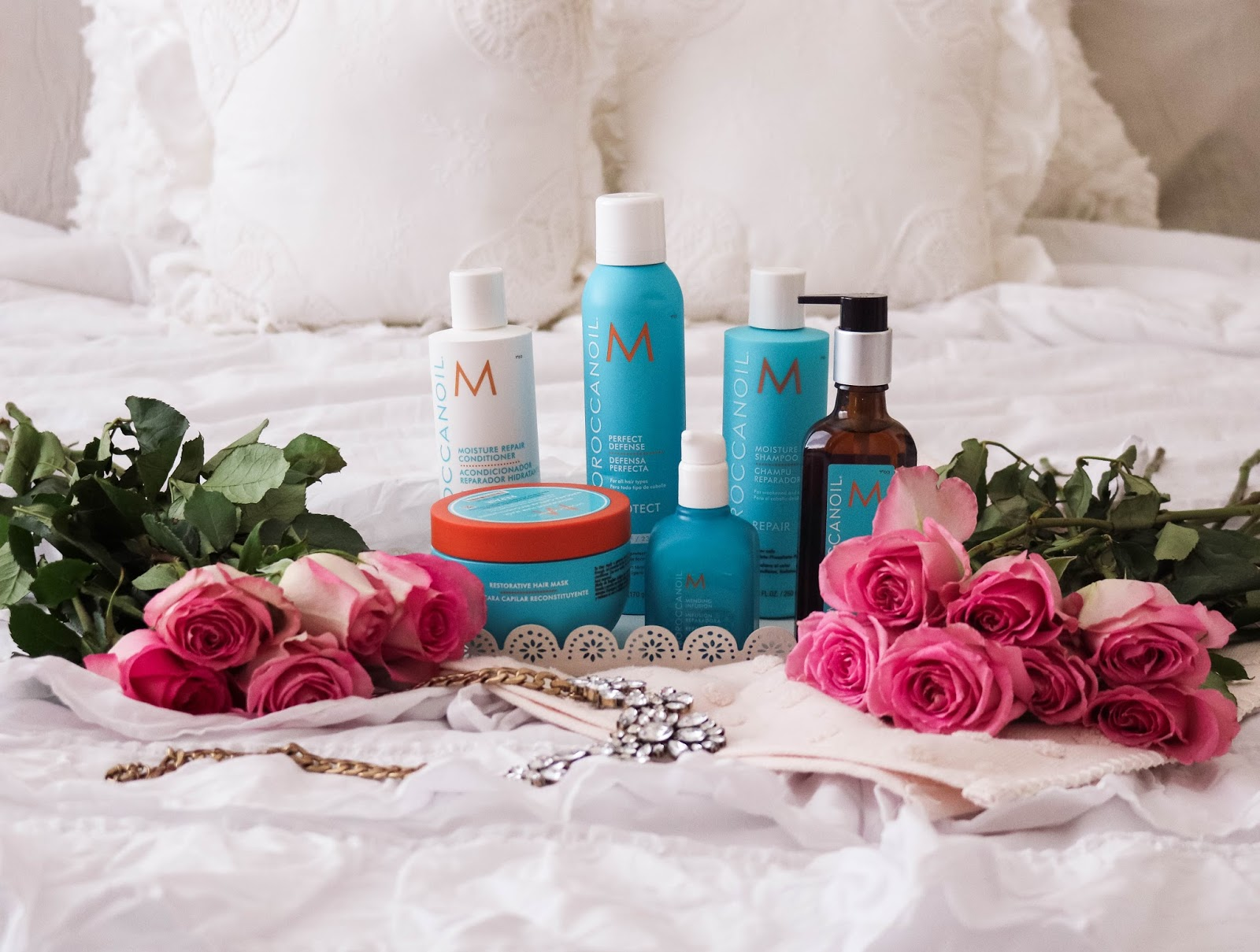 Fearless Beauty: Favorite Moroccanoil Hair Products