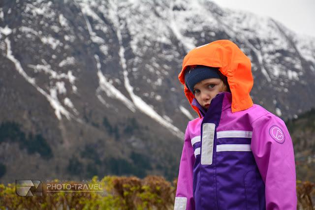 Hania w Norwegii. Hania mała podróżniczna zwiedza świat