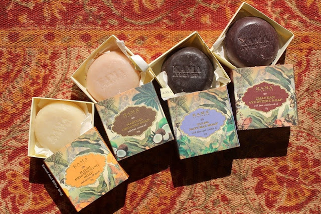 Kama Ayurveda Limited Edition Turmeric Coconut Tulsi Sandalwood Soap