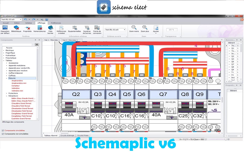 7 logiciel schema electrique gratuit plan dessin cours electronique et cours electricit. Black Bedroom Furniture Sets. Home Design Ideas