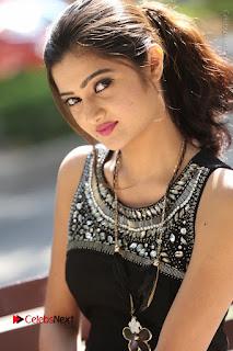 Actress Poojitha Pallavi Naidu Stills in Black Short Dress at Inkenti Nuvve Cheppu Movie Platinum Disc Function  0154.JPG