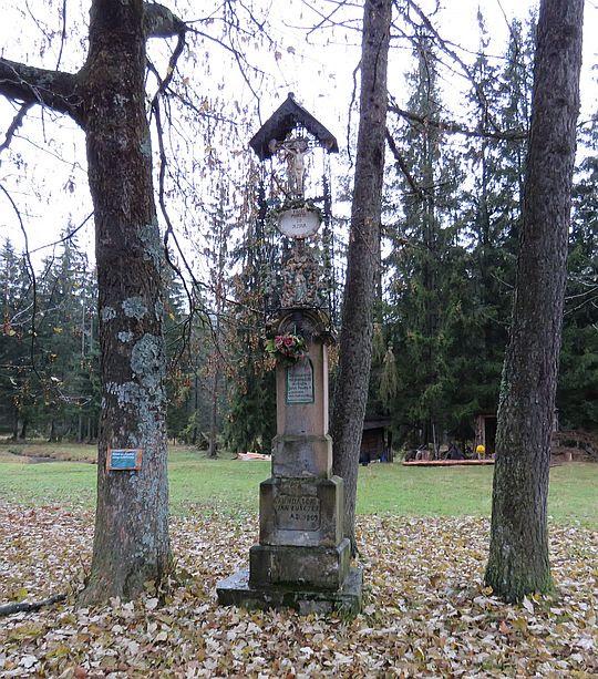 Krzyż na Siwej Polanie z 1809 roku.