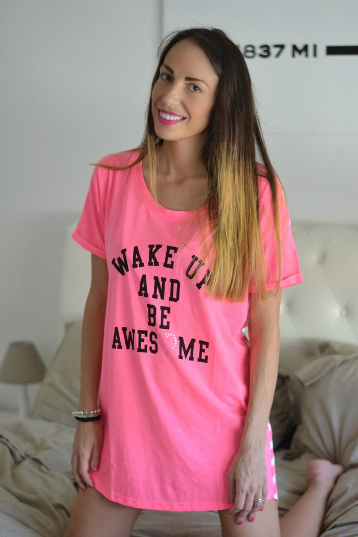 pigiama maxi t-shirt
