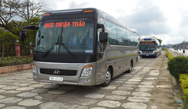 Dịch vụ cho thuê xe hợp đồng và du lịch tại Phú Yên - Xe du lịch 29 chỗ