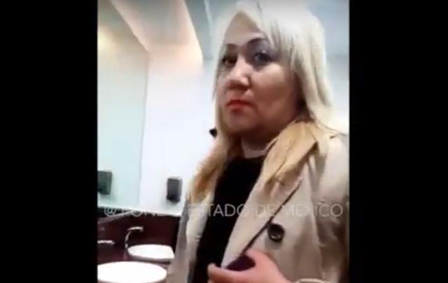 Surge #LadyAeropuerto agrede a trabajadora de limpieza de la tercera edad (VIDEO)