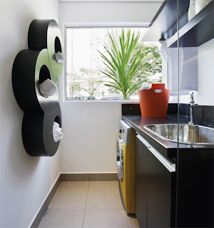 lavanderia com janela