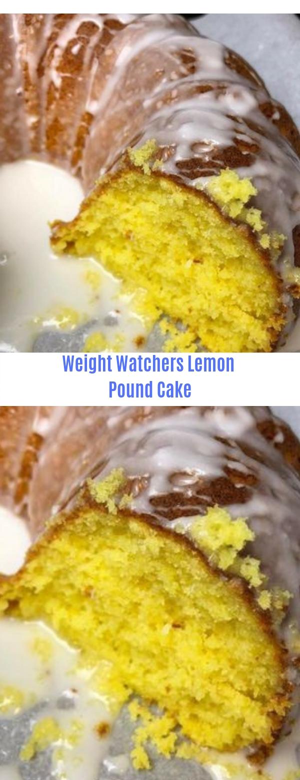 Weight Watchers Lemon Pound Cake