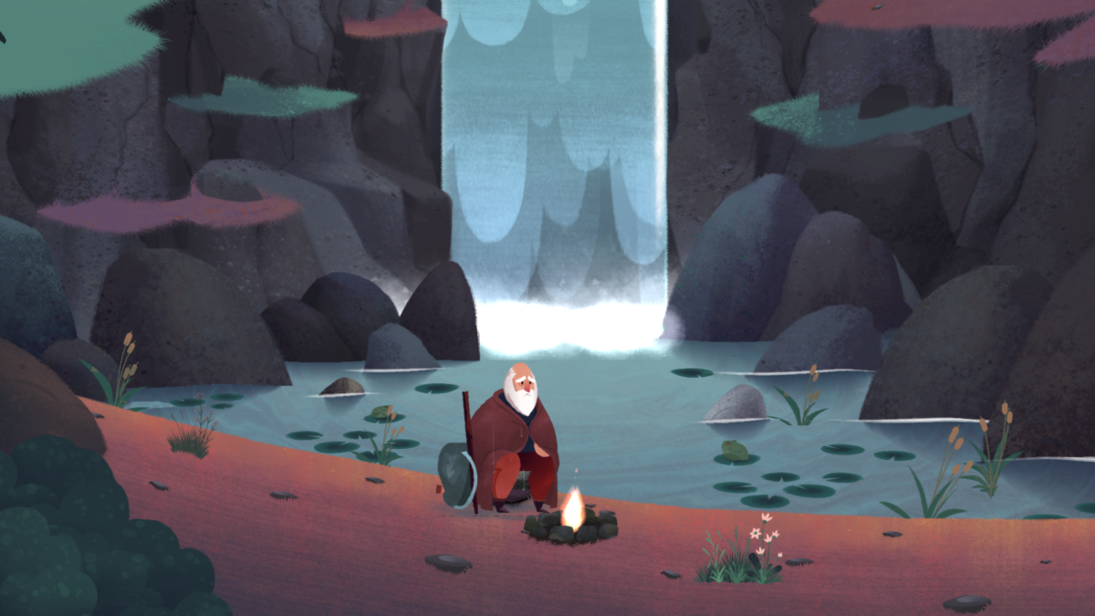 Old man's journey 1