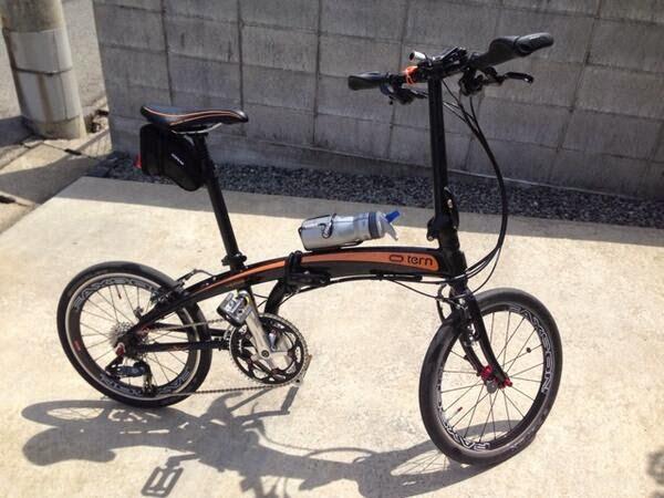 Sepeda lipat atau Folding bike Tern Verge P20 pilihanku!