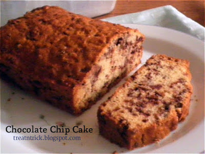 http://treatntrick.blogspot.com.es/2015/09/chocolate-chip-cake.html