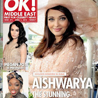 Aishwarya Rai Bachchan on the OK! Magazine cover