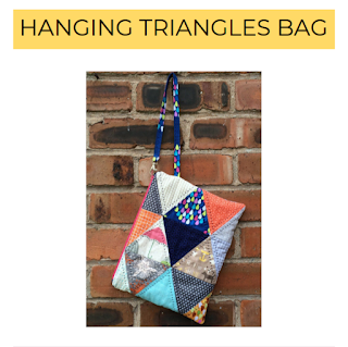 hanging triangles bag pattern