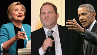 After Delay, Clinton, Obamas R.I.P. Weinstein