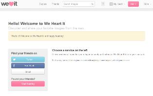 Cara Membuat Akun We Heart It