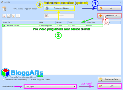 Mengubah Format Video MKV ke MP4