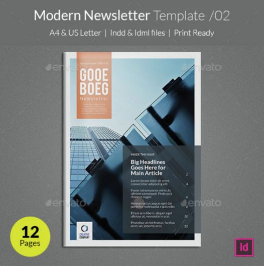 10. Modern Newsletter Template v02