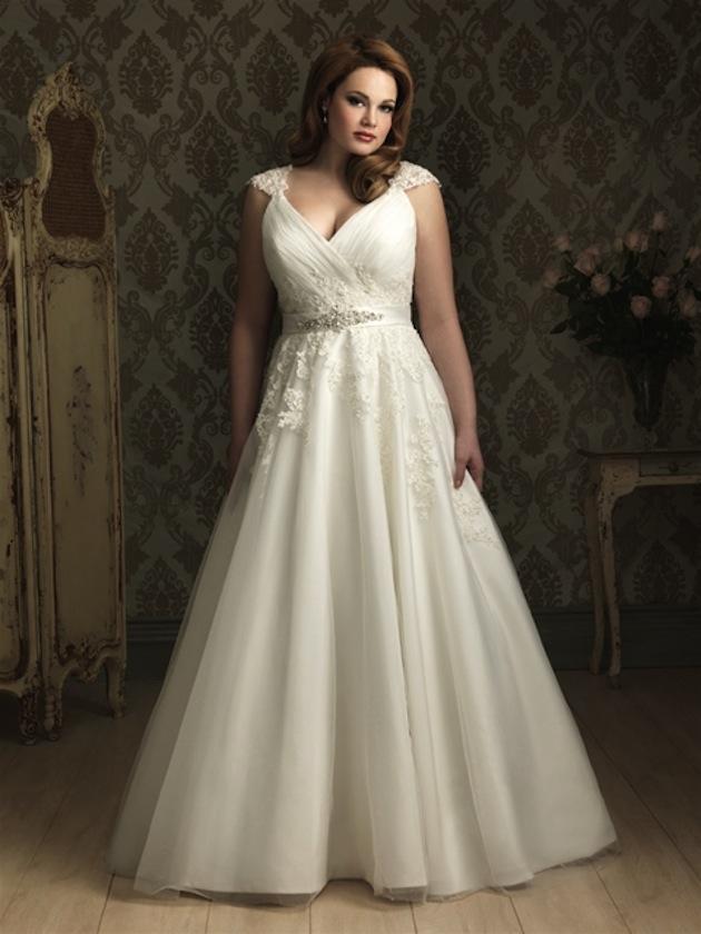 Imagenes de vestidos de novias para gorditas 2019