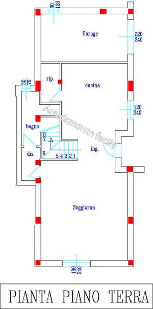 La cucina con penisola arredamento facile for Quanto costerebbe una casa con 5 camere da letto