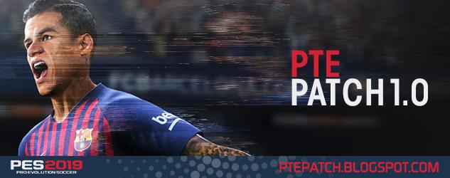 PES 2019 PTE Patch V1.0