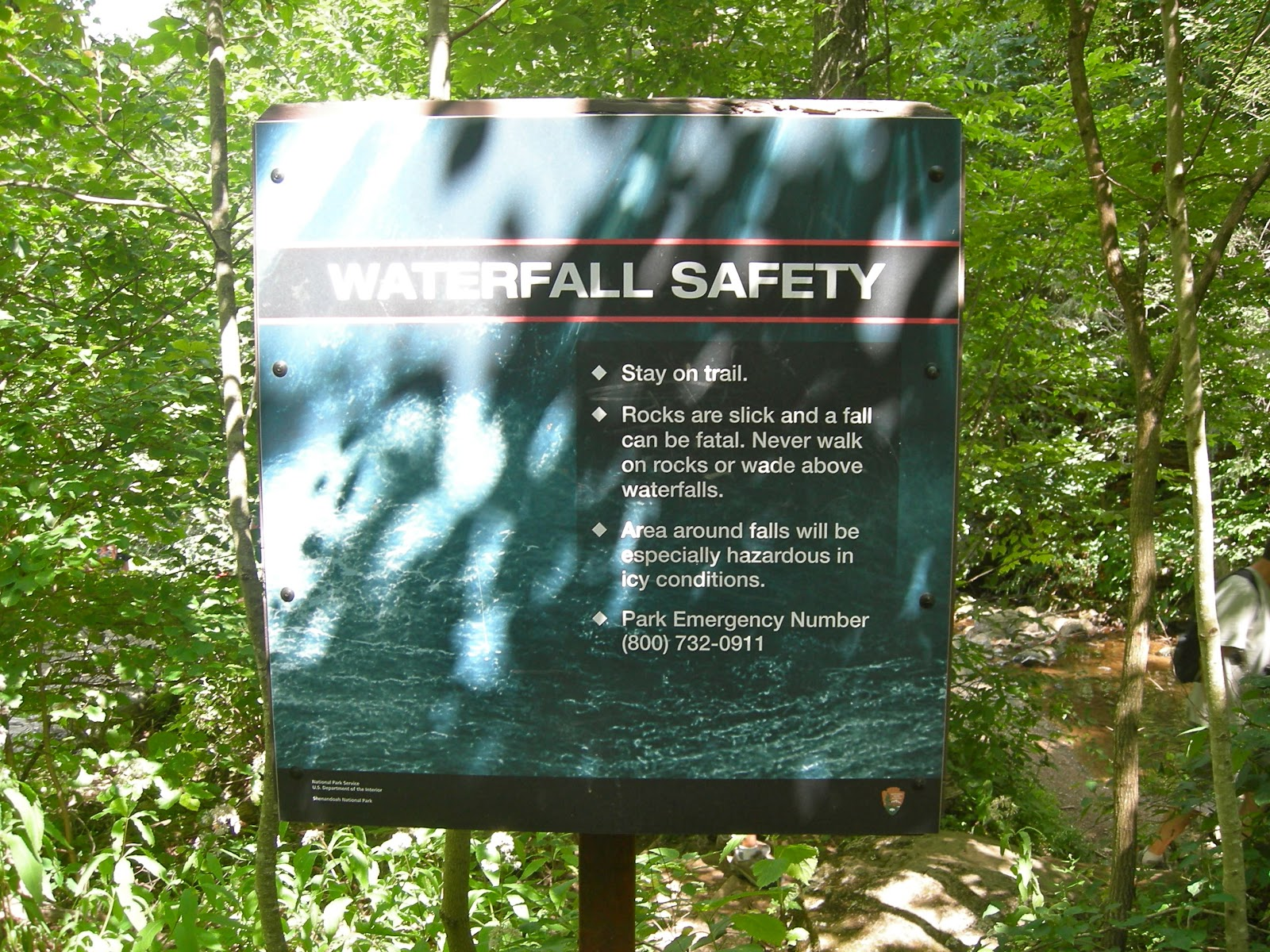 Waterfall Safety