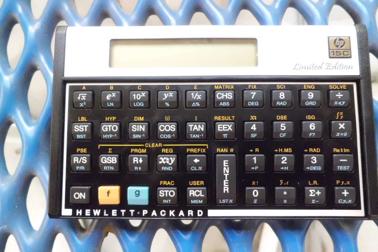 Hp 15c calculator Manual