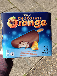 Terry's Chocolate Orange Ice Creams