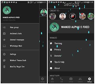 WAMOD Alpha15 Bugs Fixed