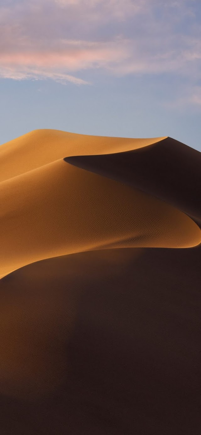 Download The macOS 10.14 Mojave Light & Dark Wallpaper For Your iOS Devices