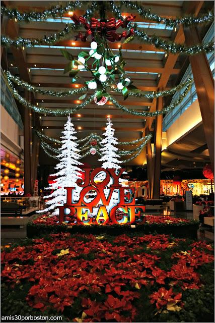 Navidad en Las Vegas 2017: Decoraciones del Hotel Aria
