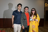 Govinda with wife Sunita Ahuja and Son Yashvardan Ahuja at Screening Of her new movie Aa a Hero 6.JPG