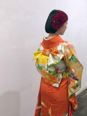 卒業式着物アレンジ