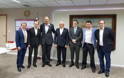 Embaixador de Israel visita o Ceará