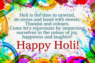 Holi Status In English
