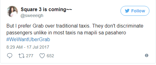 July 26 - Goodbye UBER AND GRAB? Netizens viral reactions on LTFRB's Order