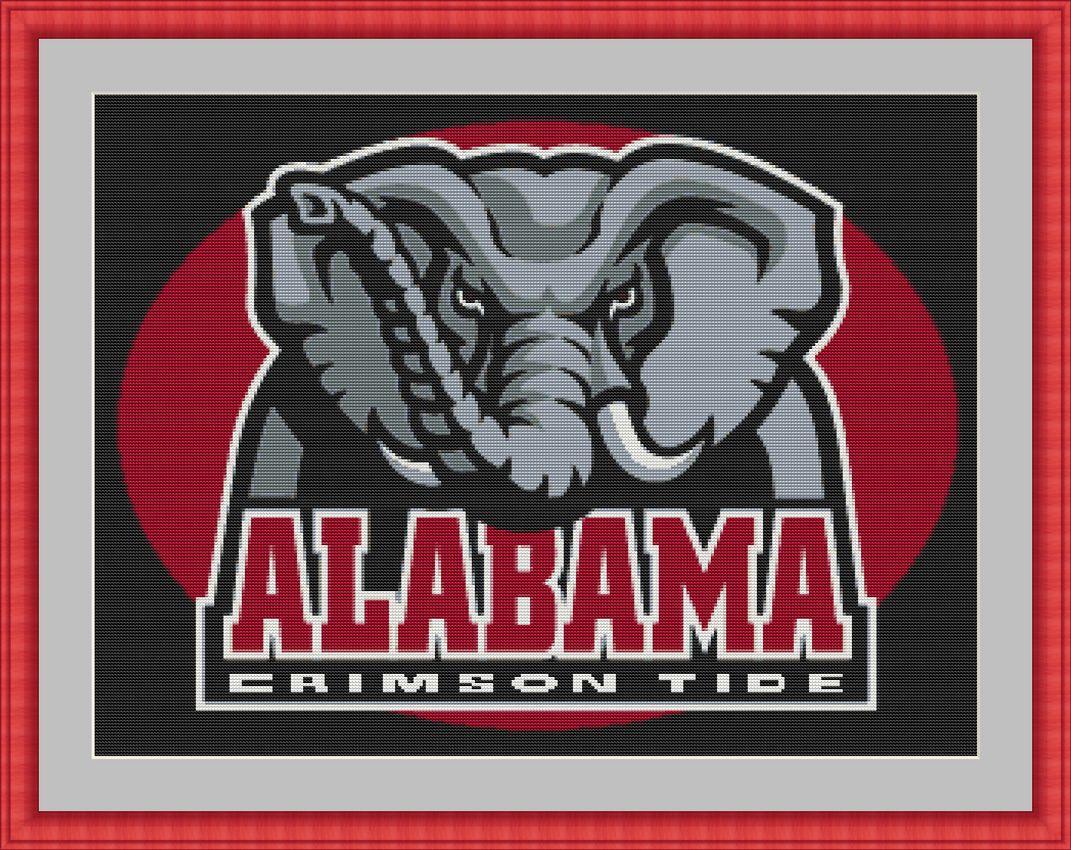 Ncaa Sports Outlet University Of Alabama Cross Stitch Pattern