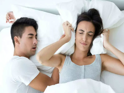 Frustrated With Partner Snoring